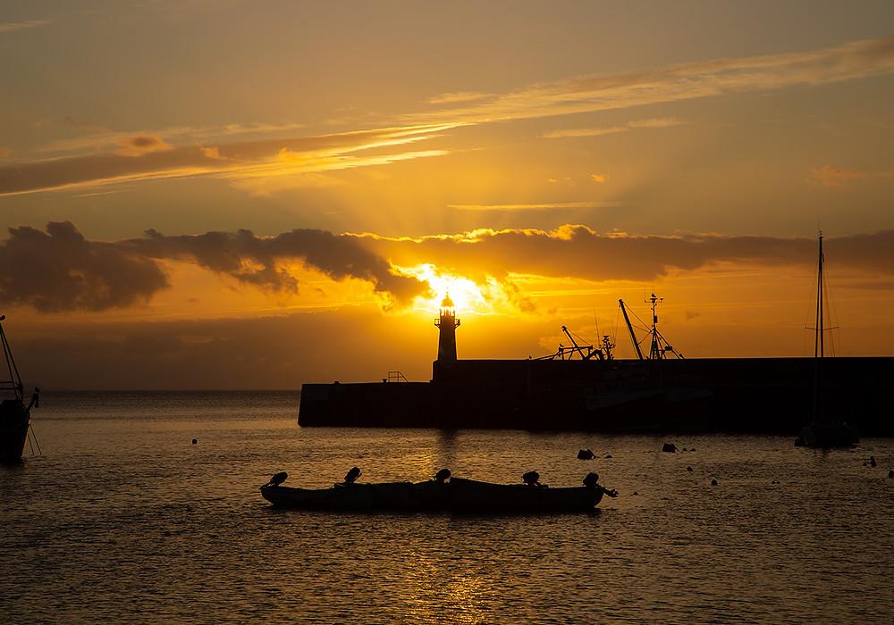 Mevagissey at sunrise