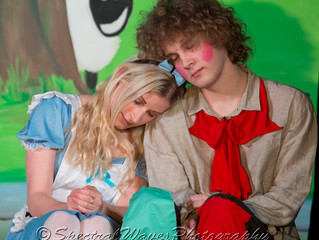 Shots from the Hunton pantomime performance