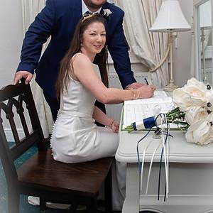 Debbie and Rich's wedding