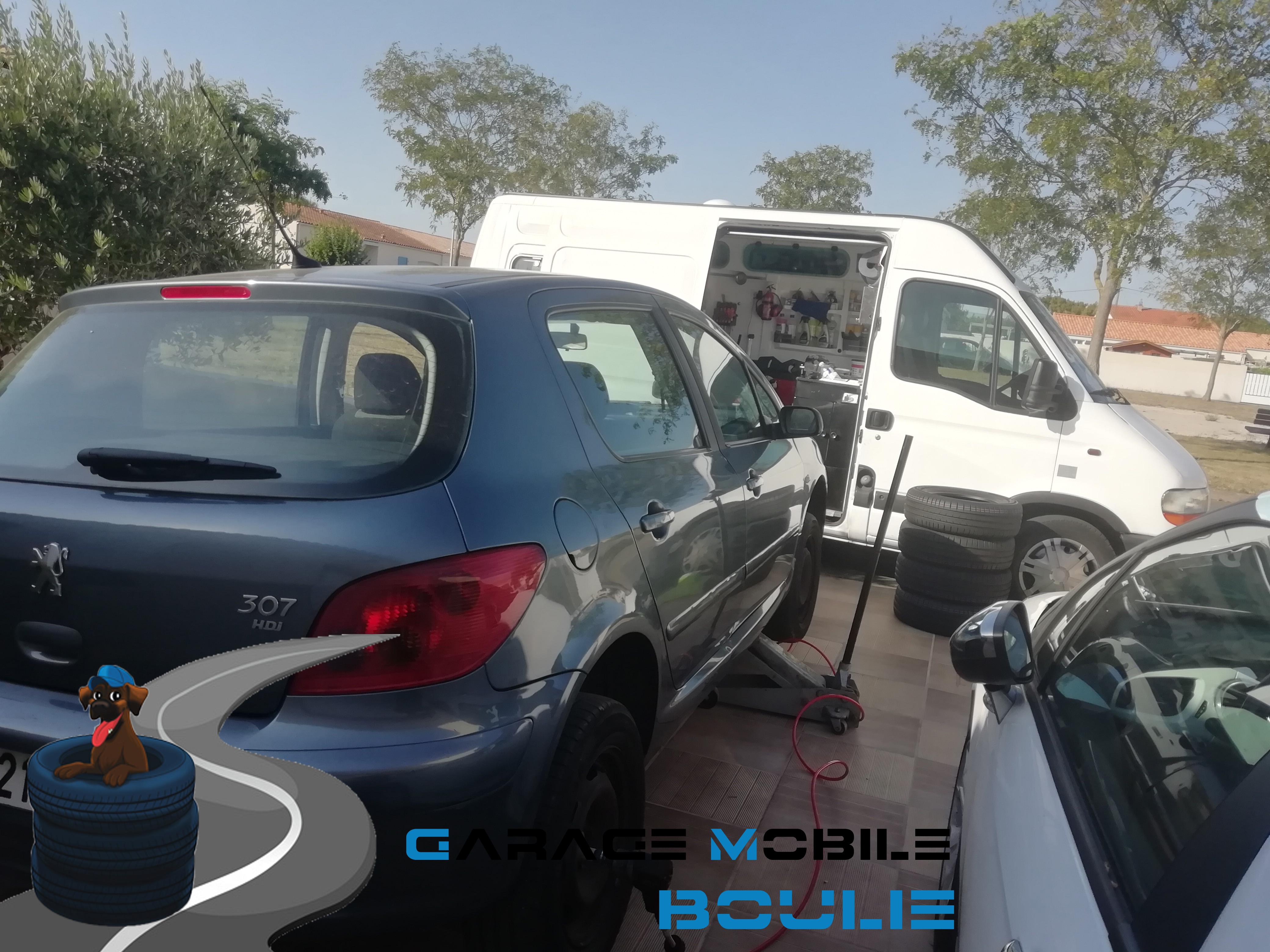Intervention sur Peugeot 307