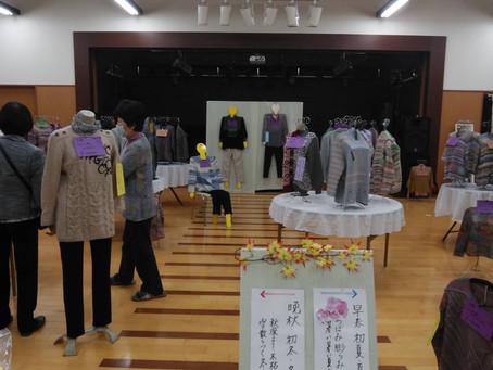 【催物情報】11月7日(土)8日(日)中西編物教室展示即売会開催です。