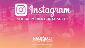 Instagram | Social Media Cheat Sheet