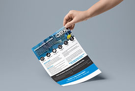 A La Carte Flat Rate Pricing - Flyer and Mailer Design