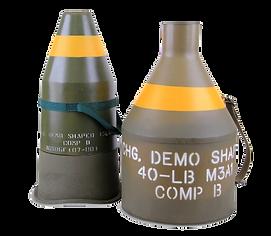 M2A4 15 Lb and M3A1 40 Lb Demolition Charge