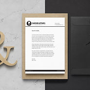A La Carte Flat Rate Pricing - Letterhead and Envelope Design