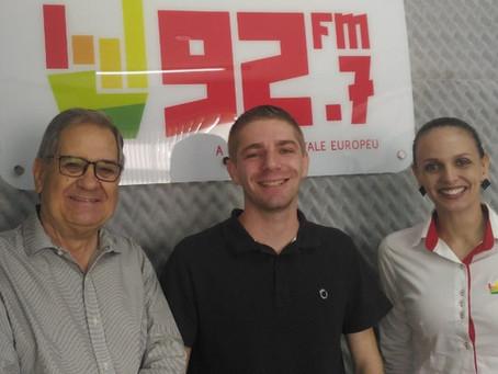 Presidente do Ceuti é entrevistado na 92.7 FM