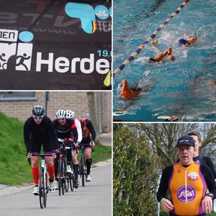 Sprint triathlon Herderen (B) 2017: wind, wind en nog eens wind!