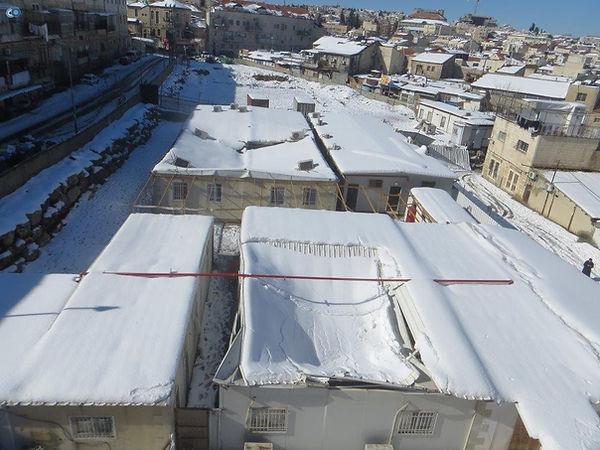 קריסת גג מעומס שלג