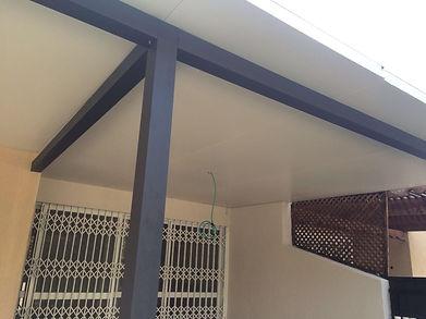 גג פנלים לחדר שמש