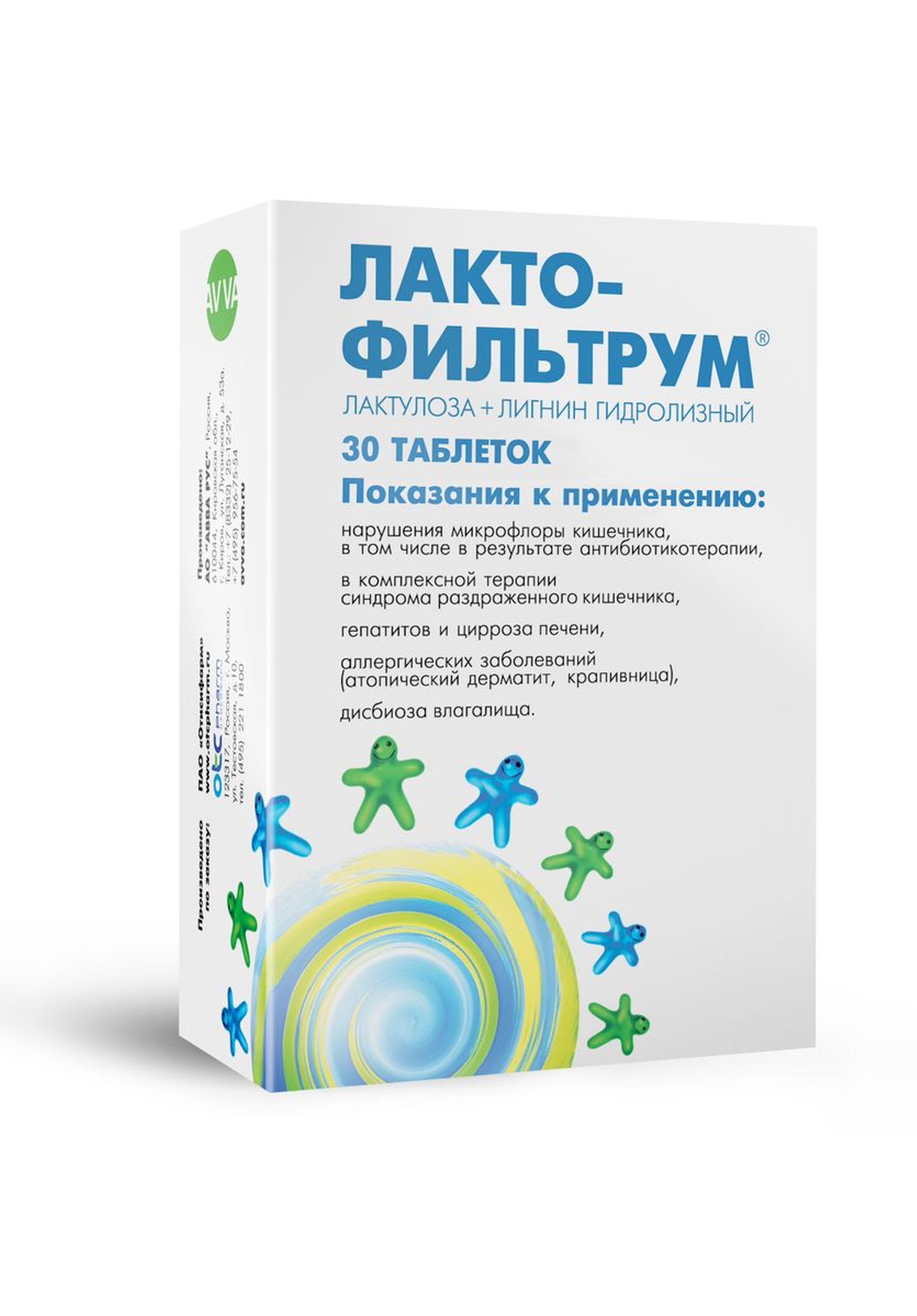 dysbiosis lactofiltrum