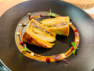 Recipe: Veal Pie with Oyster Mushrooms, Squash and Potatoes from Fairmont Grand Hotel Geneva