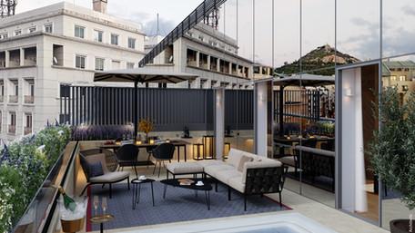 Introducing xenodocheio Milos - The first 5* food destination hotel in Athens