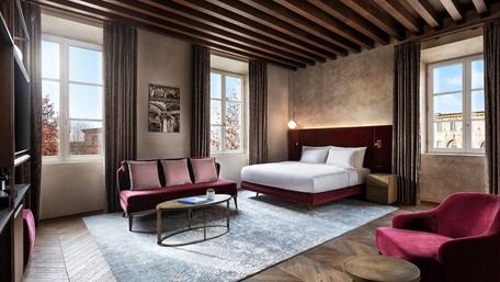 Grand Universe Lucca, Autograph Collection opens at the foot of the Apuan Alps