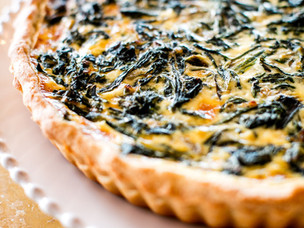 Recipe: Swiss chard tart by José Bailly of Hôtel Les Roches Rouges
