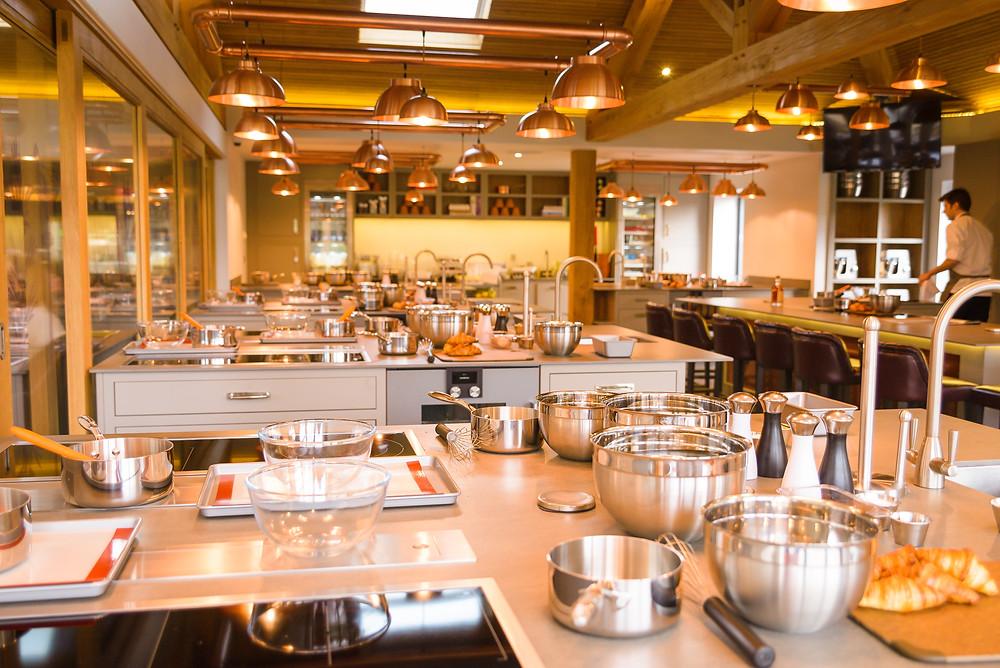 Chewton Glen cookery school