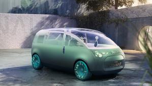 The future is huge – the future is MINI! World exclusive, the MINI Vision Urbanaut