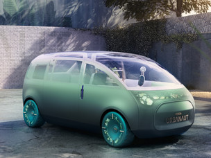 The future is huge – the future is MINI! World exclusive, the MINI Vision Urbanaut