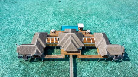 Stay at the world's largest overwater residences at Anantara Kihavah Maldives