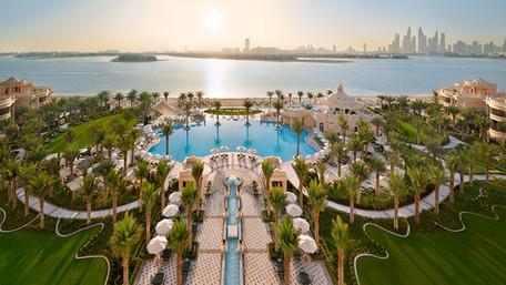 Raffles The Palm Dubai an ultra-luxury resort announced