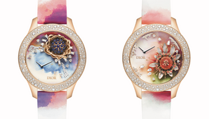 Dior Watches presents the Dior Grand Soir Aquarelle