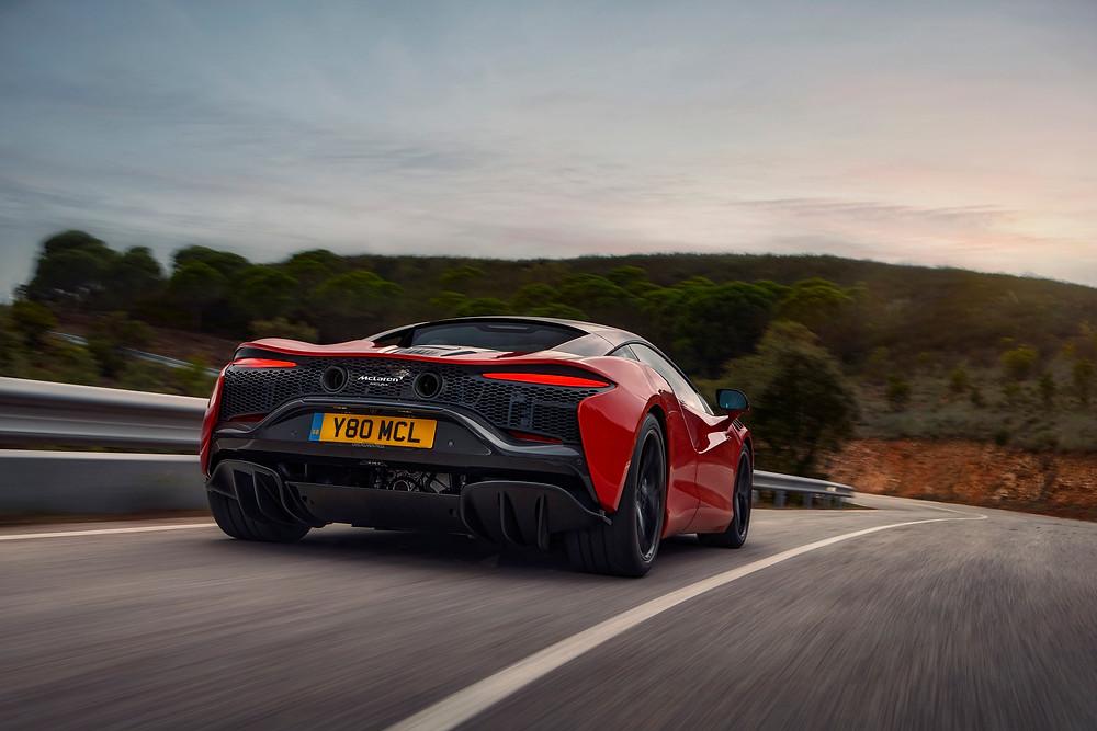 Red McLaren Artura