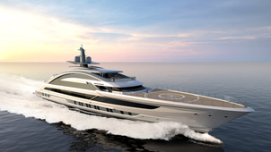 Helipads, chandeliers, and more... bespoke superyachts with stunning design features