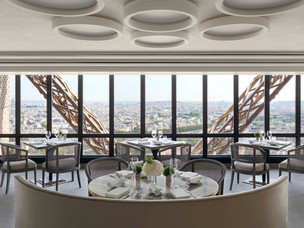 Le Jules Verne restaurant attains a coveted Michelin Star