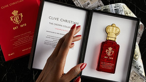 Clive Christian present their new Crab Apple Blossom fragrance