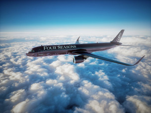Four Seasons reveals 2022 itineraries aboard all-new Four Seasons Private Jet
