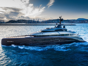 CRN delivers the M/Y 137 mega yacht