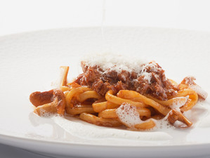 Recipe: Pici Pasta with Guinea Fowl Ragout - from Four Seasons Hotel Firenze