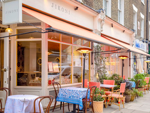 Jikoni launches spring terrace in Marylebone