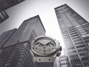 Hublot plays tribute to New York City with the Classic Fusion Concrete Jungle