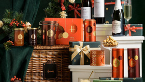 Harrods iconic hampers to enjoy at home for the holidays