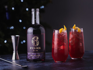 Recipe: Damson and cranberry collins – by 6 O'clock Gin