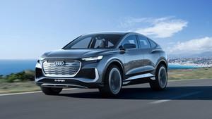 Audi - The new Q4 Sportback e-tron concept