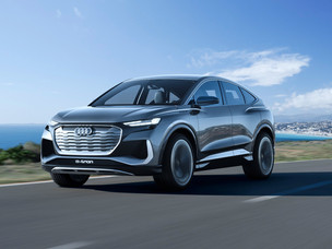 Audi - The new Q4 Sportback e-tron concept