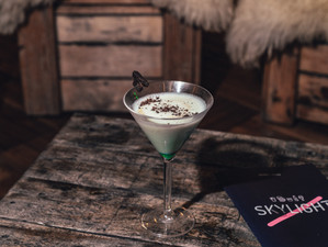 Recipe: After Eight Martini - by Skylight Christmas at Tobacco Dock