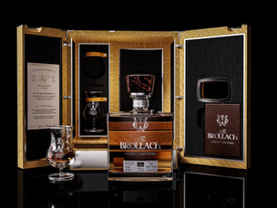 The Craft Irish Whiskey Co. launches double-distilled, single-malt whiskey, The Brollach
