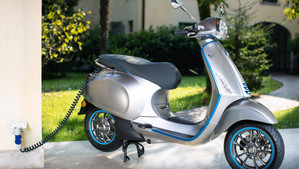 Vespa launches first ever electric scooter, the Vespa Elettrica