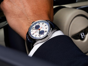 Breitling and Bentley – synchronised perfectly!