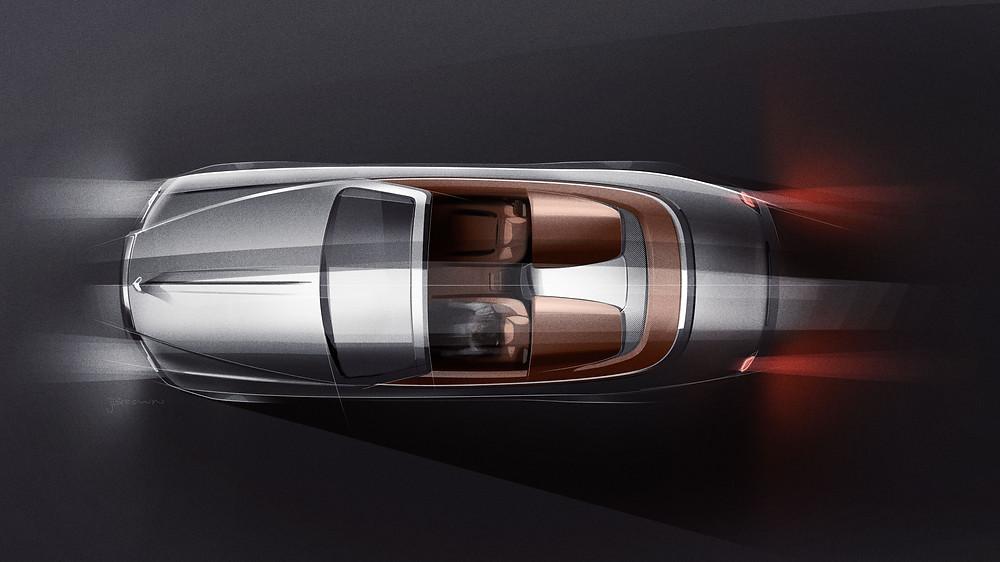 Rolls Royce Dawn Silver Bullet