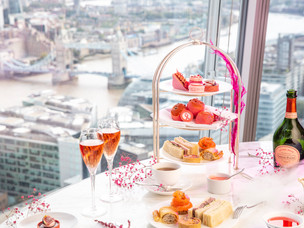 Shangri-La The Shard launch special Pink Afternoon Tea, in support of Breast Cancer Awareness Month