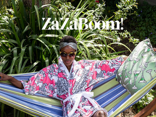 ZaZaBoom! Sustainable luxury with a higher purpose