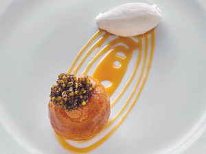 Recipe: Baba Au Rum from Michelin-starred chef, Christophe Pelé, at Le Clarence