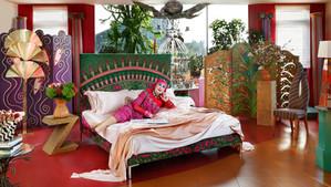 Iconic bed maker Savior teams up with the 'Princess of punk' Dame Zandra Rhodes