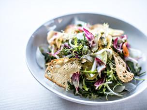 Recipe: Summer Salad by Anthony Bisquerra of Alpaga, Megève