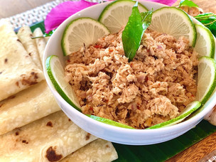 Recipe: Smoked Tuna Mas huni & Roshi flatbread from JW Marriott Maldives Resort & Spa