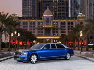 Your chance to own the ultimate luxury four-door - the Bentley Mulsanne Grand Limousine by Mulliner