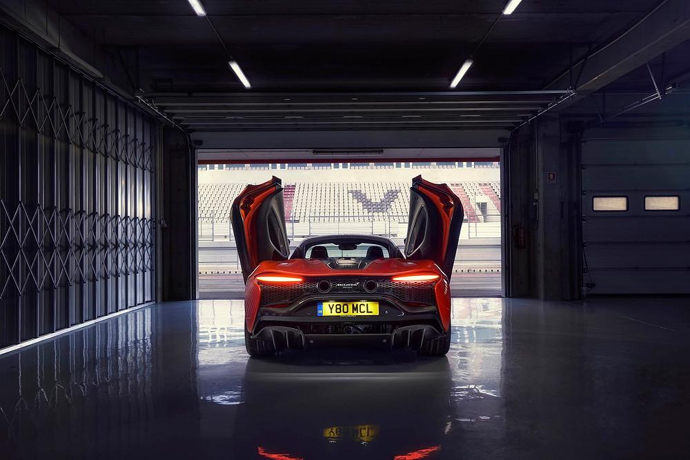 Rear of McLaren Artura